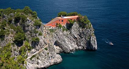 Capri - Villa Malaparte, tra mito e cinema