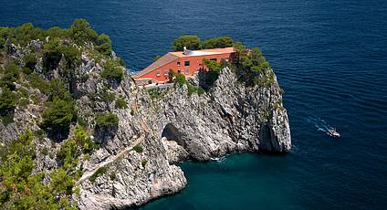 Capri - Villa Malaparte, Part Legend and Part Cinema