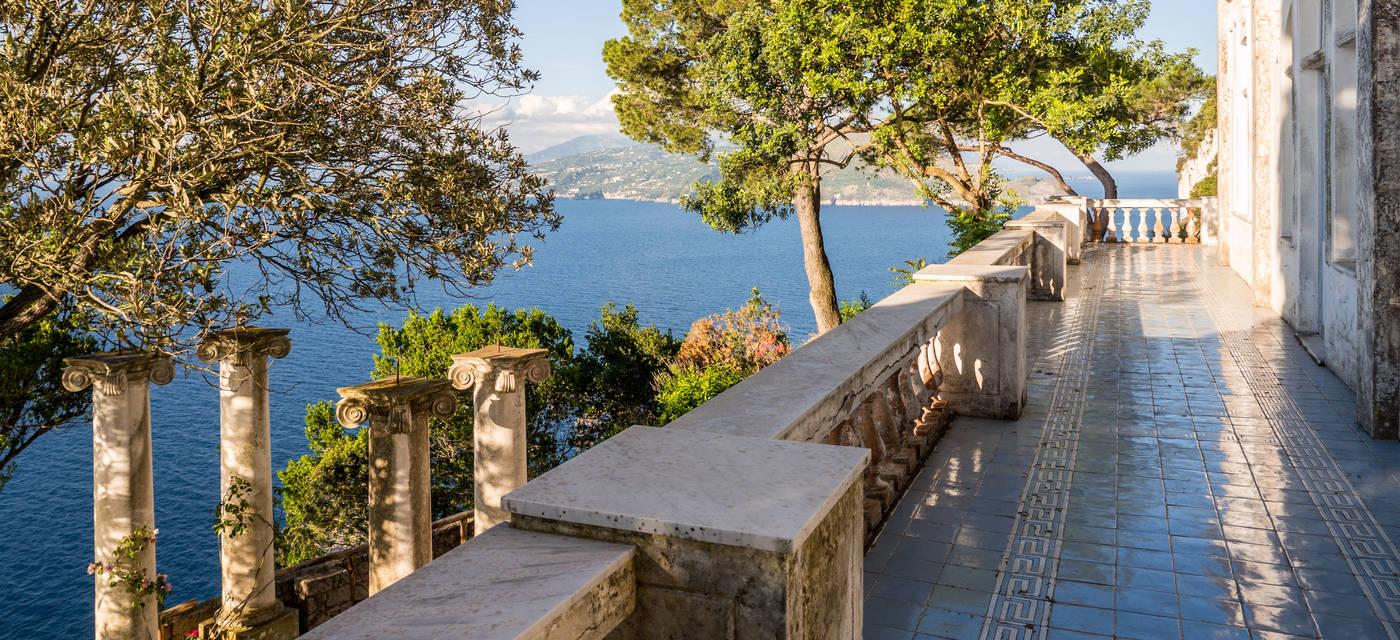 Villa lysis capri for Villas in capri
