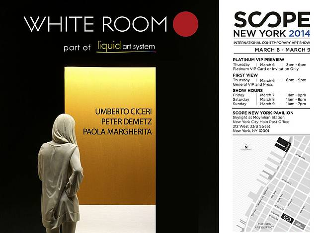 Liquid art system at SCOPE NY 2014