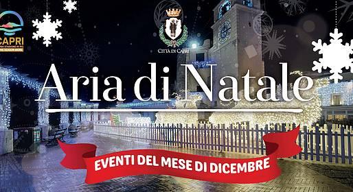 Eventi del mese di dicembre 2016