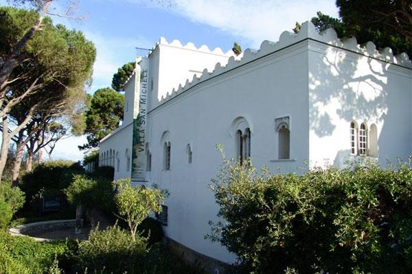 Cappella Villa San Michele Capri