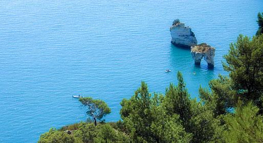 Puglia's sunny mountain