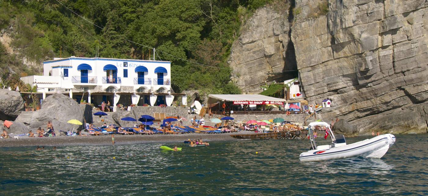 As praias de Positano