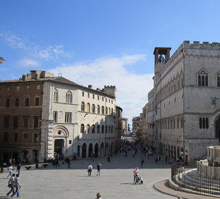 The medieval center of Perugia Hotel