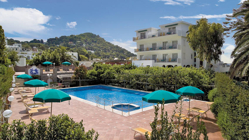 Hotel Syrene Hotel 4 estrelas Capri
