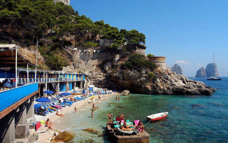 Ristorante Torre Saracena A Capri Info E Foto