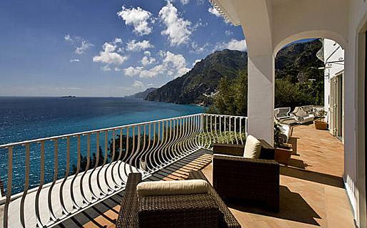 Villa lighea art boutique hotel positano for Ville rustiche di lusso