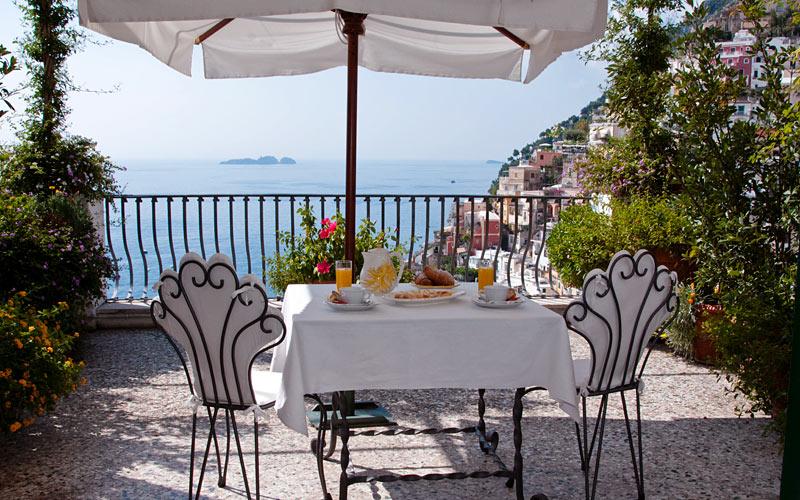 villa rosa hotel positano italy