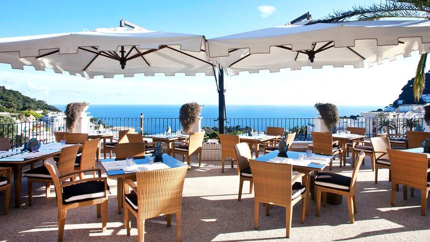Terrazza Tiberio Restaurants Capri