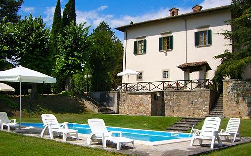 Villa La Castellaccia Historical Residences Sansepolcro
