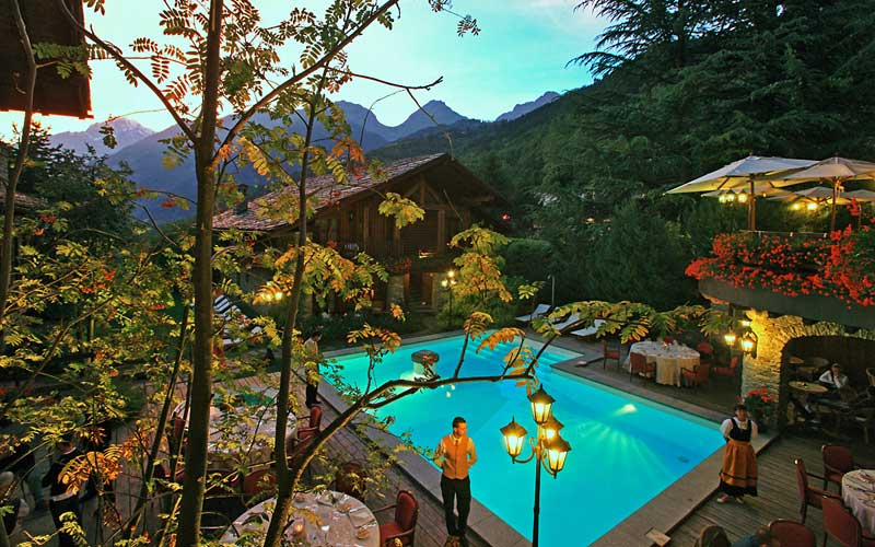Hotel Mont Blanc Courmayeur Italy