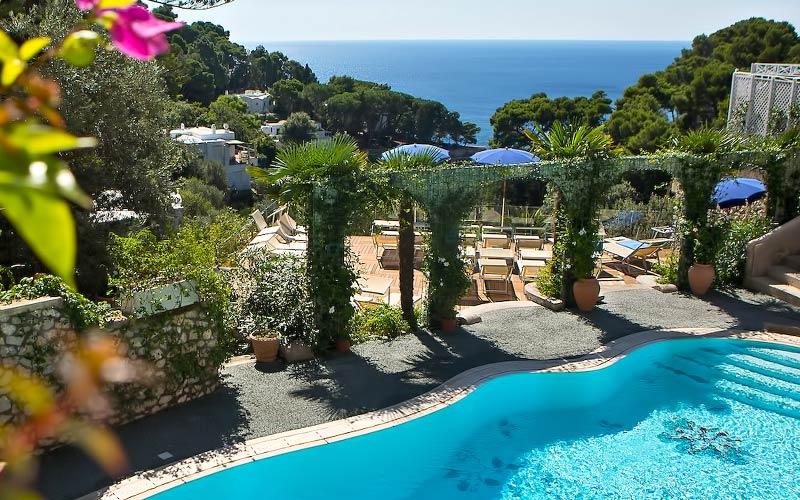 La Floridiana Hotel 4 estrelas Capri