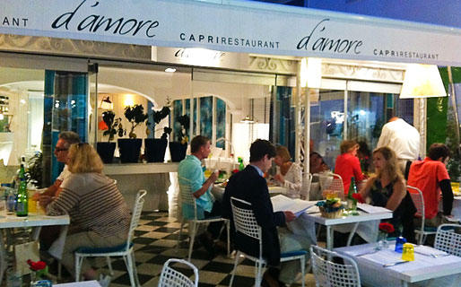 D'Amore Restaurants Capri