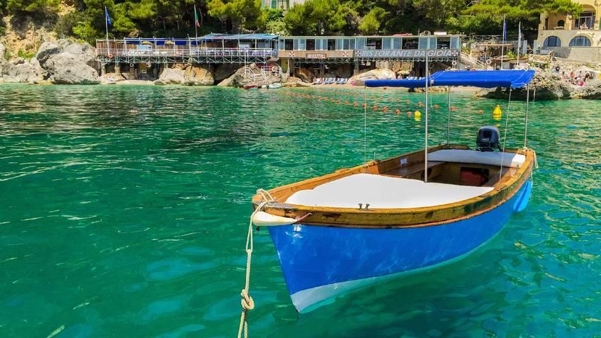 Capri Blue Boats Excursions by sea Capri