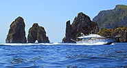 Capri Yacht Charter - Excursions by sea