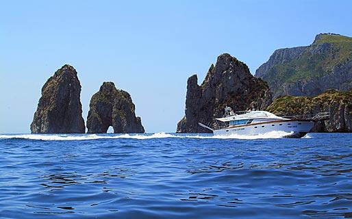 Capri Yacht Charter Escursioni in mare Capri