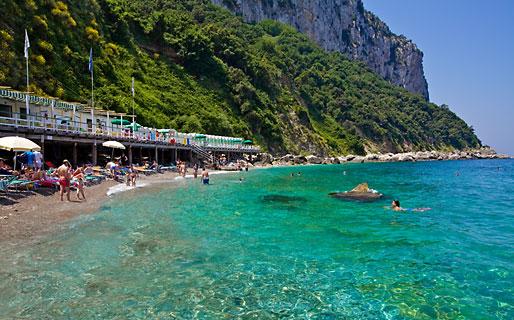 Bagni di Tiberio Balne�rios Capri
