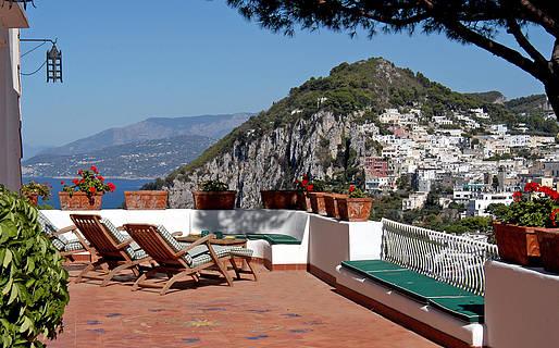 Villa Le Terrazze Case Affitto Capri