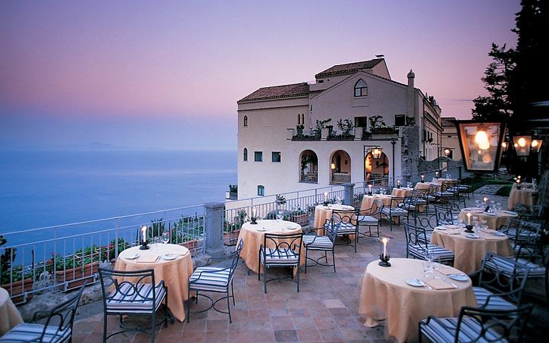 Hotel Caruso Ravello Restaurant