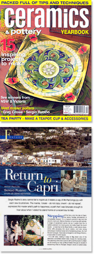 Return to Capri Australian Ceramics & Pottery