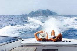 Tecnomar Boat Capri - Transfer Capri - Sorrento by Itama 38 Speedboat