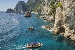 Blue Sea Capri - Excursões de barco em Capri - meio dia